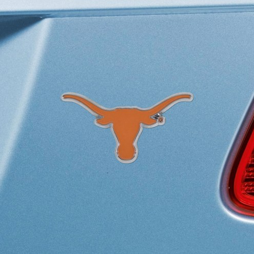 Texas Longhorns Color Car Emblem