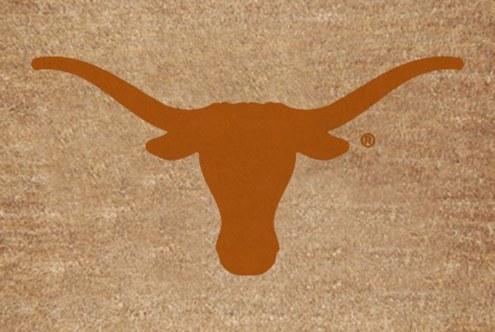 Texas Longhorns Colored Logo Door Mat