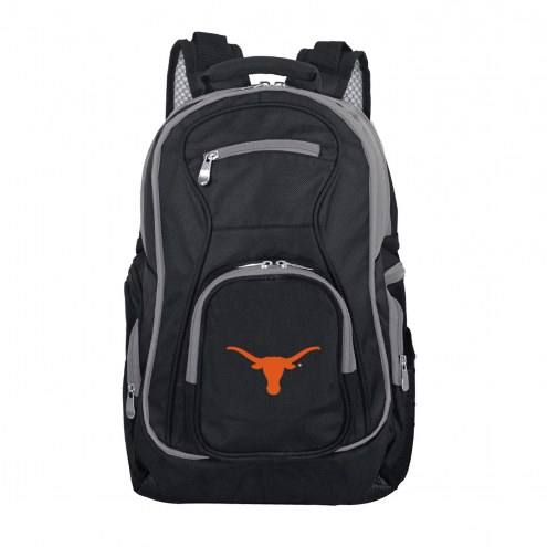 NCAA Texas Longhorns Colored Trim Premium Laptop Backpack