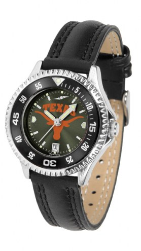 Texas Longhorns Competitor AnoChrome Women's Watch - Color Bezel