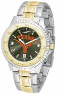 Texas Longhorns Competitor Two-Tone AnoChrome Men's Watch