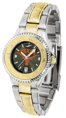 Texas Longhorns Competitor Two-Tone AnoChrome Women's Watch