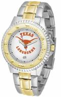 Texas Longhorns Competitor Two-Tone Men's Watch