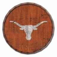 "Texas Longhorns Cracked Color 24"" Barrel Top"