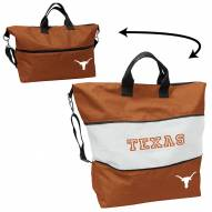 Texas Longhorns Crosshatch Expandable Tote