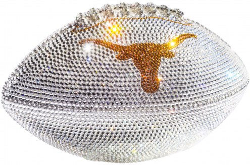 Texas Longhorns Swarovski Crystal Football