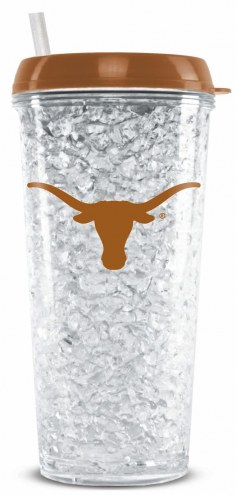 Texas Longhorns Crystal Freezer Tumbler