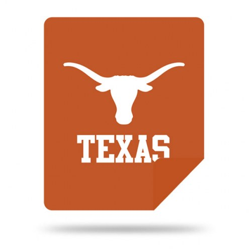 Texas Longhorns Denali Sliver Knit Throw Blanket