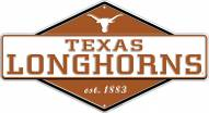 Texas Longhorns Diamond Panel Metal Sign