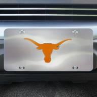 Texas Longhorns Diecast License Plate
