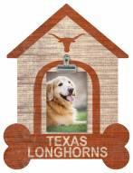 Texas Longhorns Dog Bone House Clip Frame