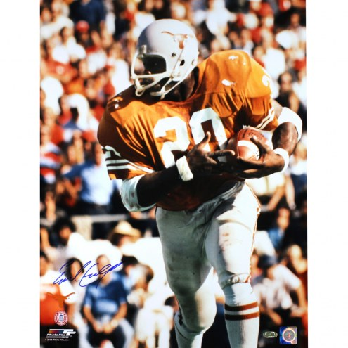 """Texas Longhorns Earl Campbell Signed 16"""" x 20"""" Photo"""