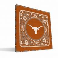 Texas Longhorns Eclectic Canvas Print