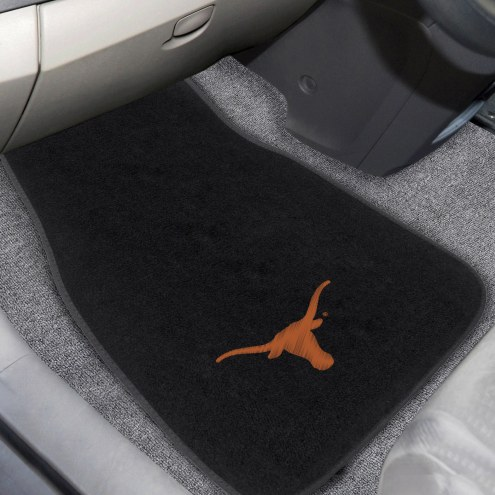 Texas Longhorns Embroidered Car Mats