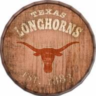 """Texas Longhorns Established Date 24"""" Barrel Top"""