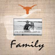 Texas Longhorns Family Picture Frame