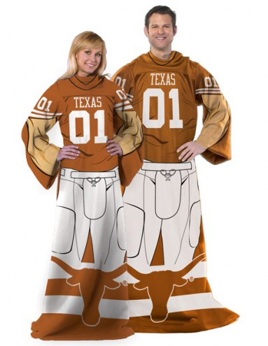 Texas Longhorns Full Body Comfy Throw Blanket