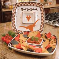 Texas Longhorns Gameday Chip N Dip Dish