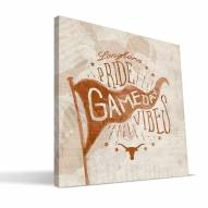 Texas Longhorns Gameday Vibes Canvas Print