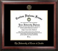 Texas Longhorns Gold Embossed Diploma Frame