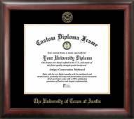 Texas Longhorns Gold Embossed Diploma Frame
