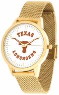 Texas Longhorns Gold Mesh Statement Watch