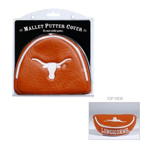 Texas Longhorns Golf Mallet Putter Cover