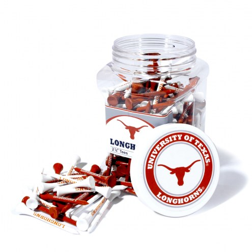 Texas Longhorns 175 Golf Tee Jar