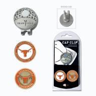 Texas Longhorns Hat Clip & Marker Set