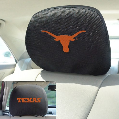Texas Longhorns Headrest Covers