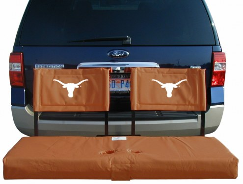 Texas Longhorns Tailgate Hitch Seat/Cargo Carrier