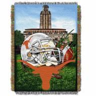 Texas Longhorns Home Field Advantage Throw Blanket