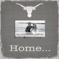Texas Longhorns Home Picture Frame