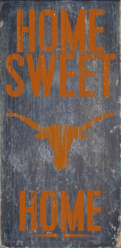 Texas Longhorns Home Sweet Home Wood Sign