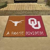 Texas Longhorns/Oklahoma Sooners House Divided Mat