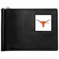Texas Longhorns Leather Bill Clip Wallet