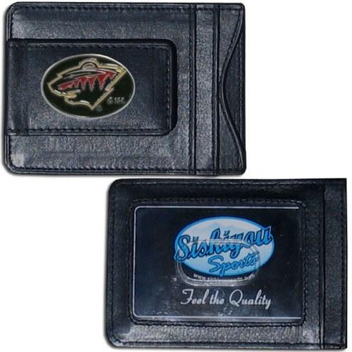 Texas Longhorns Leather Cash & Cardholder