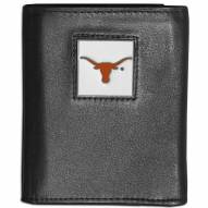 Texas Longhorns Leather Tri-fold Wallet