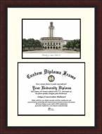Texas Longhorns Legacy Scholar Diploma Frame