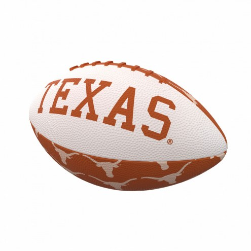 Texas Longhorns Mini Rubber Football