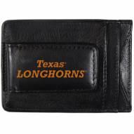 Texas Longhorns Logo Leather Cash and Cardholder