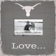 Texas Longhorns Love Picture Frame