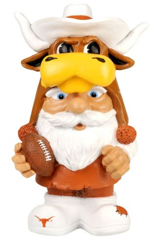 Texas Longhorns Mad Hatter Garden Gnome