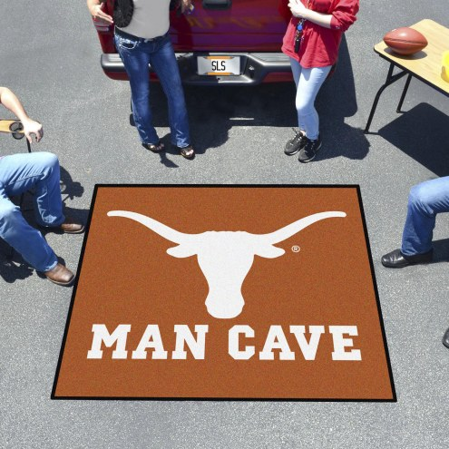 Texas Longhorns Man Cave Tailgate Mat