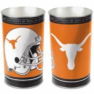 Texas Longhorns Metal Wastebasket