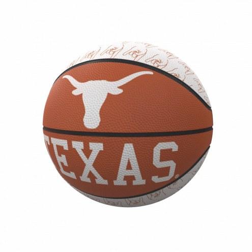 Texas Longhorns Mini Rubber Basketball