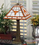 Texas Longhorns Mission Table Lamp