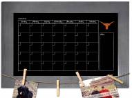 Texas Longhorns Monthly Chalkboard with Frame