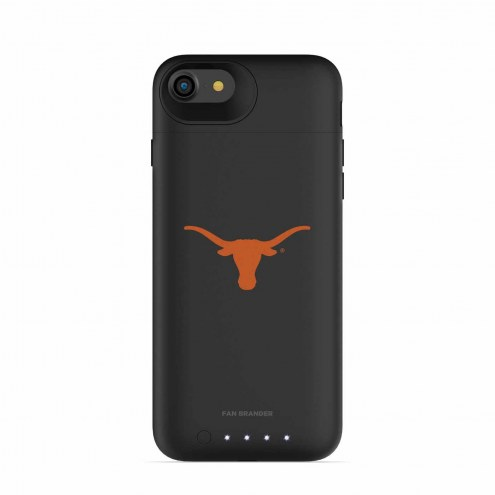Texas Longhorns mophie iPhone 8/7 Juice Pack Air Black Case