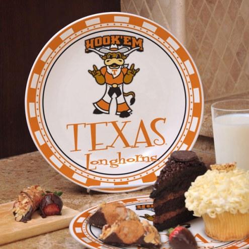 Texas Longhorns NCAA Ceramic Plate